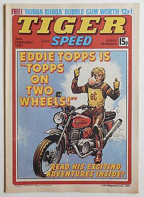TIGER & SPEED Comic - 28th February 1981
