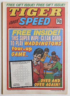 TIGER & SPEED Comic - 6th December 1980
