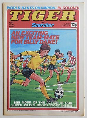 TIGER & SCORCHER Comic - 19th April 1980