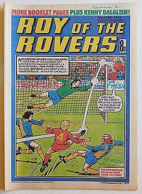 ROY OF THE ROVERS Comic - 3rd June 1978