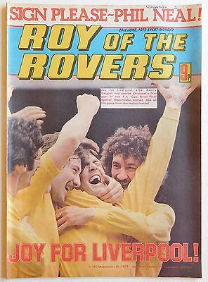 ROY OF THE ROVERS Comic - 23rd June 1979