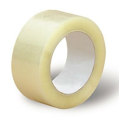 """3 Rolls-2""""x55 Yards(165' ft) Clear Carton Sealing Packing Packaging Tape"""