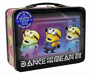 Despicable Me 3 Minions  XL Carry All Large Tin Lunch Box