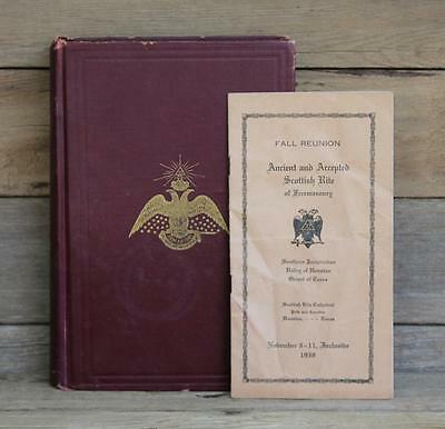 Morals And Dogma Of The Ancient And Accepted Scottish Rite Of Freemasonry 1927