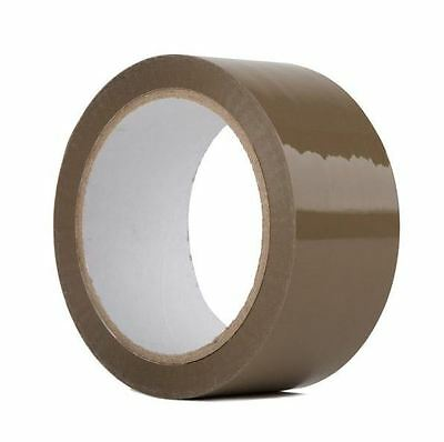 "36 Rolls-2""x110 Yards(330' ft) Box Brown Carton Sealing Packing Packaging Tape"