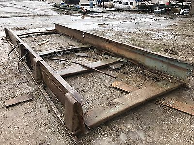 Portable Log Band Saw Mill Carriage Frame Portable Mill  20' Frame Heavy Duty