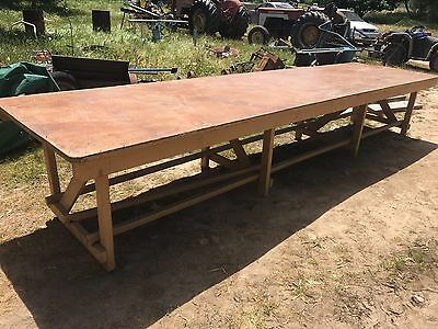 Large  Table   Dinning  Rustic