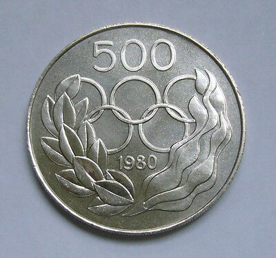 Cyprus 500 Mils 1980, Summer Olympic Games