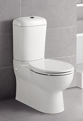 New Toilet Back to Wall Close Coupled Ceramic,soft closing seat,S P trap