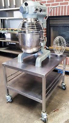 Hobart A-200T 20 Quart Dough Mixer With Bowl, 3 Tools And Rolling Mixer Stand