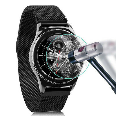 Tempered Glass Screen Protector Film for Samsung Gear S3 Classic/ Frontier Clear