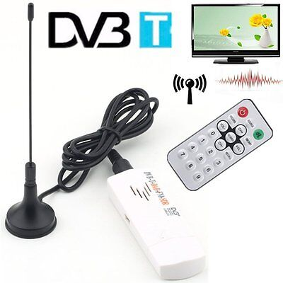 USB 2.0 DVB-T DVB-C TV Tuner Stick USB Dongle für PC /Laptop Windows 7/8 HM