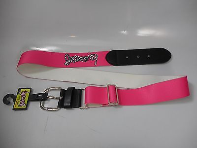 NEW $10 Intensity Squeeze Play Belt One Size Stretchy PINK