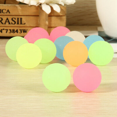 10 Pcs 32mm Luminous High Bounce Ball Glow in the Dark Noctilucent Ball EP