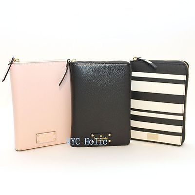 New Kate Spade New York Zip Around Personal Organizer Wellesley NWT $198 MSRP