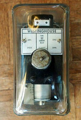 Westinghouse CURRENT RELAY from 50KW Transmitter panel mount