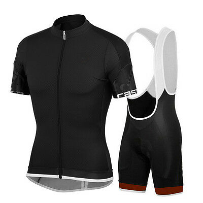 Team GB Men Breathable Lightweight Cycling Clothing Short Sleeve Jersey Set
