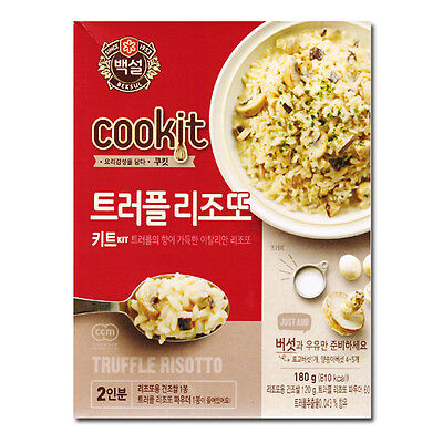 [5packs] CJ Beksul Truffle Cream Risotto 180g / instant food kit / korean food /
