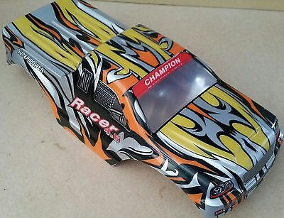 1/10 RC Monster Truck Off Road Body Shell Red