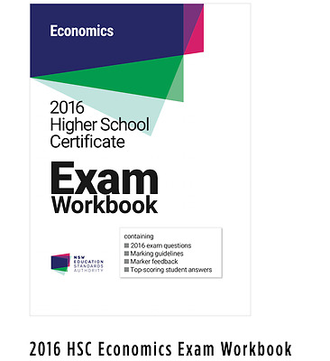 2016 HSC Economics Exam Workbook