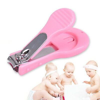 Child Baby Infant Finger Toe Nail Clipper Grooming Cutter Safety Manicure New