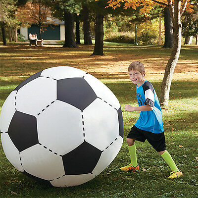 Over Sized Giant Huge Inflatable Beach Football Soccer Ball Party Play Game Toy