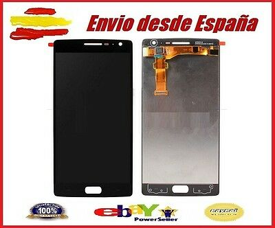 Pantalla Completa para ONEPLUS 2 Tactil  Lcd Negro Negra ONE PLUS TWO