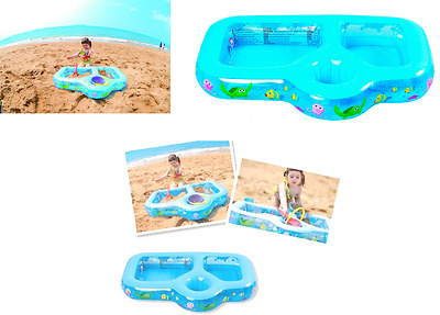 Baby Toddler 3 In 1 Beach Play Inflatable Pool Outdoor Summer Garden PadlingPool