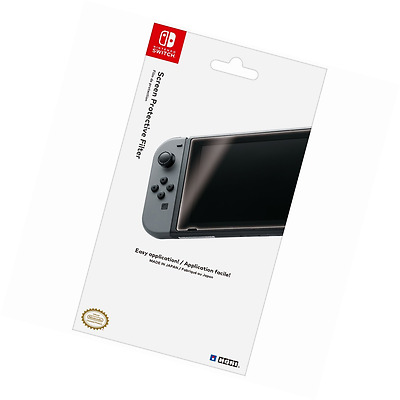 HORI Nintendo Switch Screen Filter-Protects Console Screen From Damage&Scratches