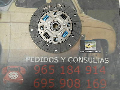 De08 Disco Embrague Ford Fiesta Mki Xr2, Escort Iii Medida Disco 190 Dientes 17