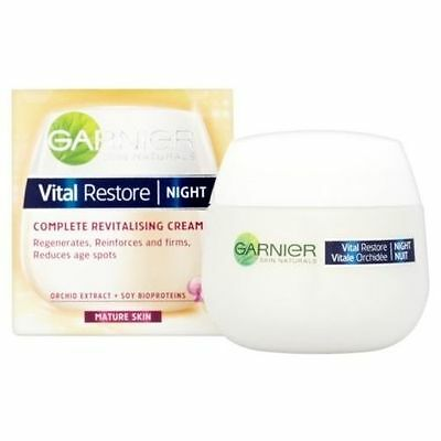 Garnier Vital Restore Night Complete Revitalising Cream 50ml - Mature Skin
