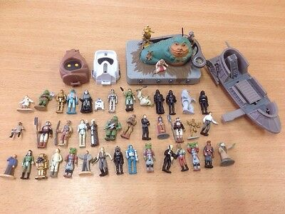 Star Wars Micro Machines Action Fleet Figure Lot Collection