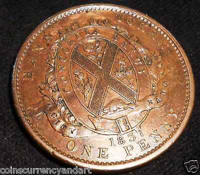 1837  Token - Canada - Lower  Canada -Deux Sous