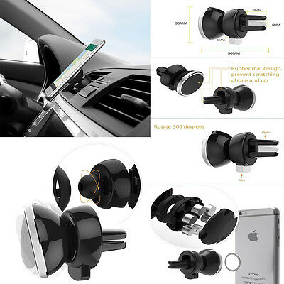360° Universal Car Air Vent Dashboard Holder Mount For GPS PDA Mobile Phone