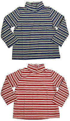 Toddler Girls NWT Long Sleeve Striped Turtleneck Top Shirt