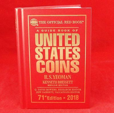 2018 Redbook Price Guide for US Coins Hardcover 71st Edition by Whitman