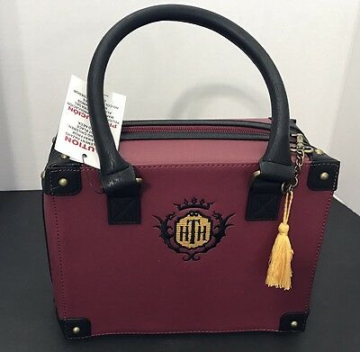Disney Parks Designer Hollywood Tower Of Terror Hotel Suitcase Trunk Purse Tote