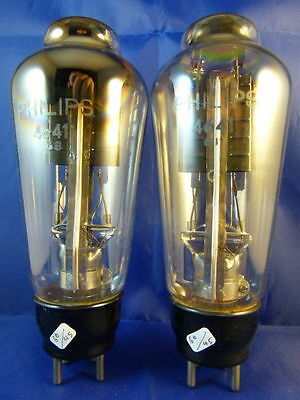 Matched Pair LK4250 / PX25 / 4641 Philips # NOS # 60/60mA (45mA=100%)(10185a)