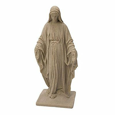 Large Virgin Mary Statue Resin Sandstone - Outdoor Home & Garden Patio Decor