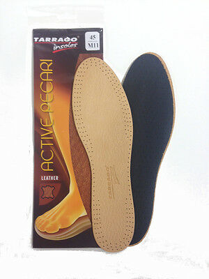 Tarrago Active Pecari Leather Insoles