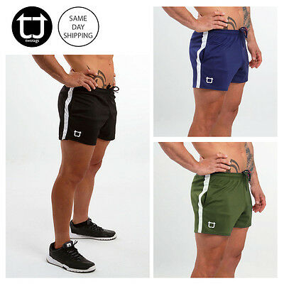 TWOTAGS Dry+ Shorts GYM BODYBUILDING TRAINING RUNNING FESTIVAL MENS SPORTS FIT