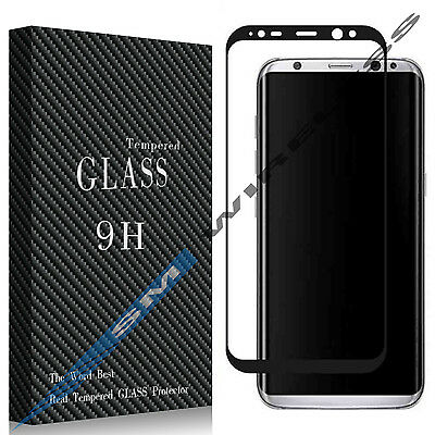 FULL PROTECTION Tempered Glass Screen Protector for Samsung Galaxy S8 / S8 Plus