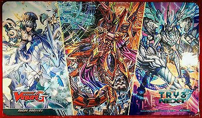 CardFight!! Vanguard G Sneak Preview Play Mat TRY3 NEXT - New and Sealed