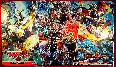 CardFight!! Vanguard G Sneak Preview Play Mat WE ARE!!! TRINITY DRAGON - New