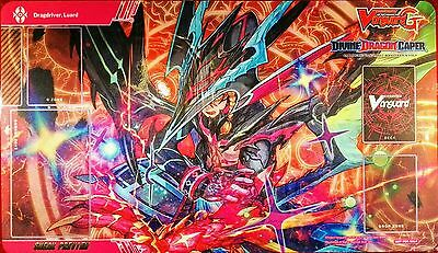 CardFight!! Vanguard G Sneak Preview Play Mat DIVINE DRAGON CAPER - New