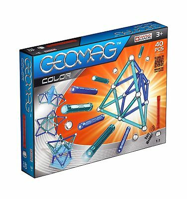 Geomag 40-Piece Color Construction Set with Assorted Panels  Mentally ... NO TAX