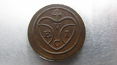 Penang One Cent ND (1786) uniface, nice grade