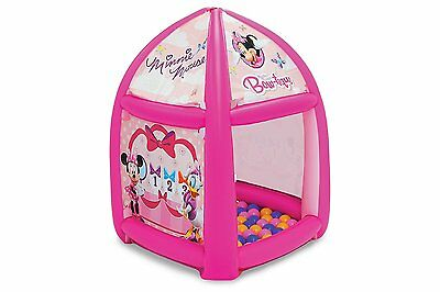 Minnie Mouse Playland 20 Balls Tent Kids Play Toys Disney Indoor Outdoor New