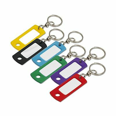 Lucky Line Key Tag with Swivel Ring; 200 Per Box Assorted Colors (16800) NO TAX