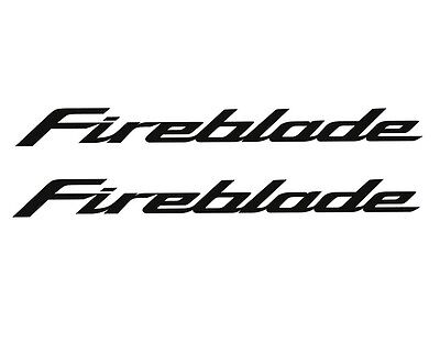 HONDA FIREBLADE CBR1000RR CBR1000 RR EMBLEM STICKER DECAL S FAIRING set3